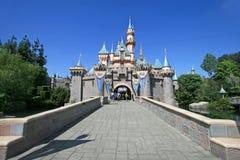 Disneyland slott Arkivbild