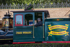 Disneyland Spoorweg royalty-vrije stock foto's