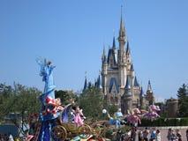 Disneyland ståtar Arkivfoton
