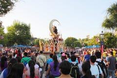 Disneyland ståtar Fotografering för Bildbyråer
