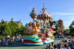 Disneyland ståtar arkivbild