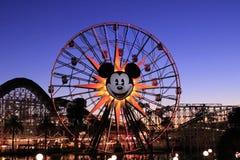 Disneyland. Taken in Disneyland 2014.  Fair wheel Royalty Free Stock Photos