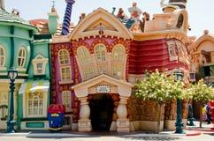 Disneyland Toevlucht Royalty-vrije Stock Foto's