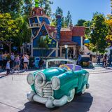 Disneyland ToonTown Anaheim California Immagini Stock