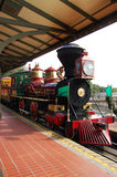 Disneyland Train Orlando Florida Colorful Royalty Free Stock Image