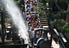 Disneyland Trein stock afbeelding