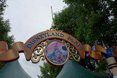 Disneyland-Vergnügungspark für Kinder Paris, Frankreich Lizenzfreies Stockfoto