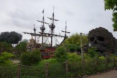 Disneyland-Vergnügungspark für Kinder Paris, Frankreich Lizenzfreie Stockfotos