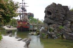 Disneyland-Vergnügungspark für Kinder Paris, Frankreich Lizenzfreies Stockbild