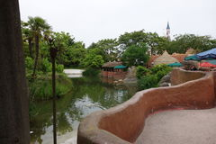 Disneyland-Vergnügungspark für Kinder Paris, Frankreich Stockbilder