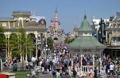 Disneylâandia Paris Fotografia de Stock Royalty Free