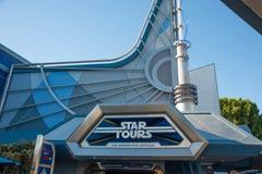 Disneylands gwiazdy wycieczki turysyczne Obrazy Stock