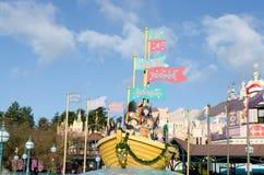 Disneylandya París en Francia Imagen de archivo libre de regalías