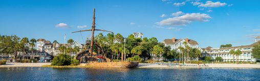 Disneys Beach Club Royalty Free Stock Photos
