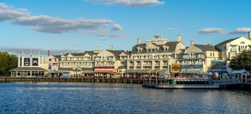 Disneys Boardwalk Royalty Free Stock Photos