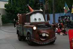 Disneys Kalifornien-Abenteuer-Parade Stockfotos