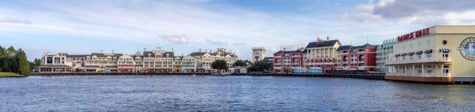 Disneys-Promenade Lizenzfreie Stockfotografie