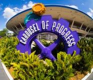 Disneyscarrousel van Vooruitgang royalty-vrije stock afbeelding