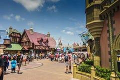 Disneyworld town center Royalty Free Stock Image