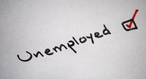 Disoccupati Fotografia Stock