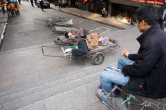 Disoccupati (senza lavoro) Fotografia Stock Libera da Diritti