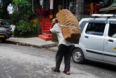 Disoccupazione e povertà Fotografia Stock Libera da Diritti