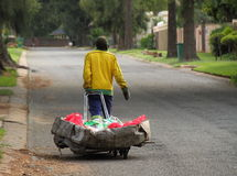 Disoccupazione nell'post-apartheid Sudafrica Fotografie Stock Libere da Diritti