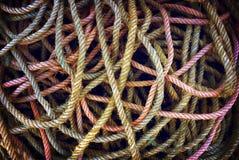 Disordine delle corde Immagine Stock