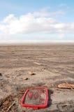 Disordine sulla spiaggia Immagini Stock