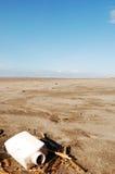 Disordine sulla spiaggia Fotografia Stock