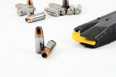 Dispara contra una munición Foto de archivo