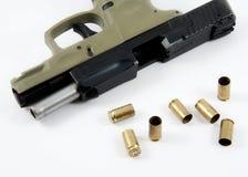 Dispara contra una munición Imagen de archivo