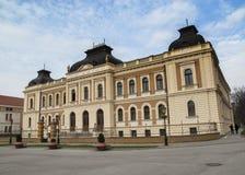 Disparado da corte do patriarcado na cidade Sremski Karlovci perto de Novi Foto de Stock