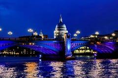 Pontes de Londres Fotos de Stock