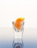 Disparado da vitamina C foto de stock