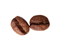 disparado de feijões de café Imagem de Stock