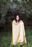 Disparado de uma mulher da bruxa Imagem de Stock Royalty Free