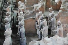 Guerreiros 4 do Terracotta Imagens de Stock Royalty Free