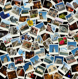 Disparaissent l'Europe - collage avec des photos de l'Europe Photo libre de droits