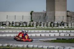 Disparaissent la concurrence de kart photos stock
