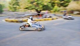 Disparaissent la piste Goa Inde de kart image stock