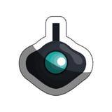 disparaissent la pro icône de caméra vidéo Image libre de droits