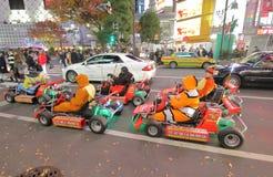 Disparaissent la visite Shibuya Tokyo Japon de kart image stock
