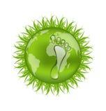 Disparaissent le concept vert, sauvent notre planète Images libres de droits