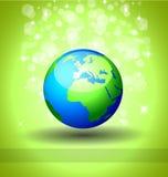 Disparaissent le fond vert d'écologie illustration libre de droits