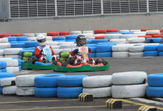 Disparaissent le kart photo stock