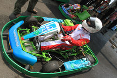 Disparaissent le kart photos stock