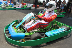 Disparaissent le kart photos libres de droits