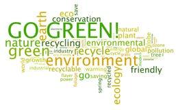 Disparaissent le vert ! Photo libre de droits