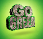 Disparaissent le vert illustration stock